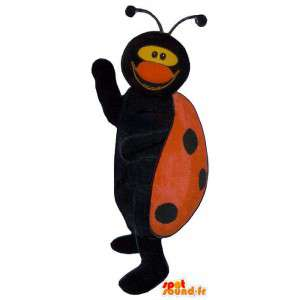 Maskot beruška. Ladybug Costume
