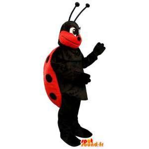 Mascota de la mariquita.Ladybug Costume