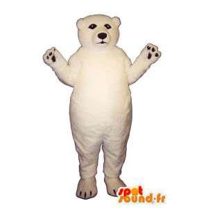 Isbjörn maskot. Isbjörndräkt - Spotsound maskot