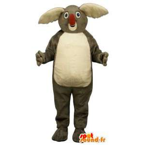 Mascot grau und weiß Koala.Koala-Klage - MASFR007395 - Maskottchen Koala