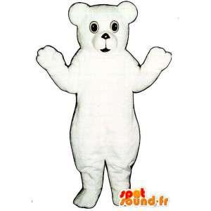 Mascot Polar Bear - Pehmo koot - MASFR007401 - Bear Mascot