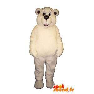 White Bear Costume - Pehmo koot - MASFR007407 - Bear Mascot