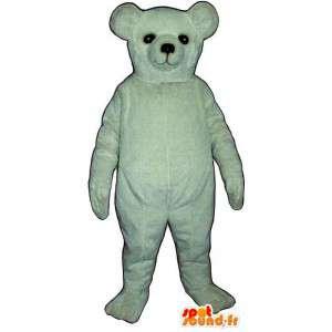 Polar Bear mascotte, klantgericht - MASFR007415 - Bear Mascot