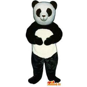 Giant Panda Mascot - Plysj størrelser
