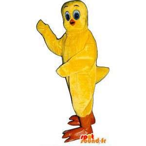 Mascot Titi famoso desenho animado canário