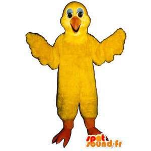 Costume canário gigante. canário disfarce