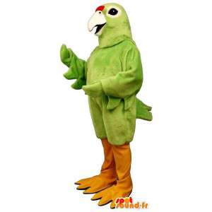 Uccello verde mascotte gigante - MASFR007474 - Mascotte degli uccelli