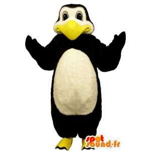 Μασκότ μεγάλη πιγκουίνος - βελούδινα μεγέθη