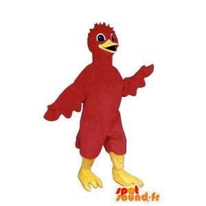 Mascot pássaro vermelho. Costume filhote - MASFR007487 - aves mascote
