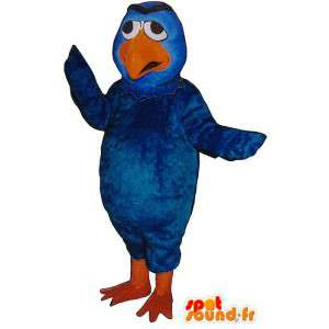 Bluebird en oranje mascotte - MASFR007494 - Mascot vogels