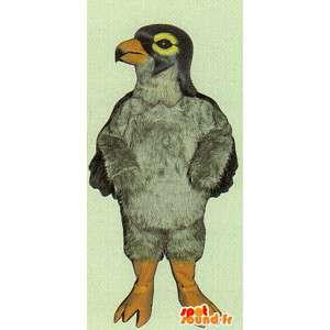 Mascotte uccello grigio, gigante - peluche tutti i formati - MASFR007499 - Mascotte degli uccelli
