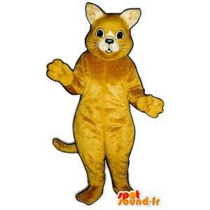 Terno gato amarelo - tamanhos de pelúcia - MASFR007515 - Mascotes gato