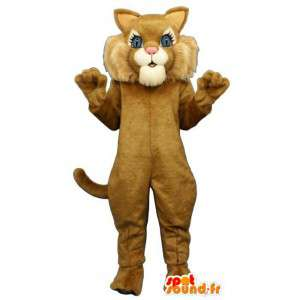 Bebê tigre mascote - tamanhos de pelúcia