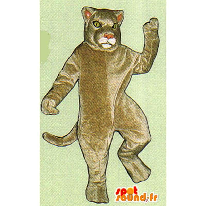 Riesen Löwen-Maskottchen - Plüsch alle Größen - MASFR007529 - Löwen-Maskottchen