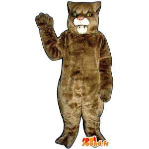 Béžové lvice kostým - Plyšové velikosti