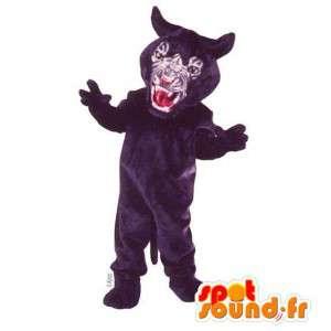 Mascot pantera negra feroz - MASFR007541 - Tiger Mascotes