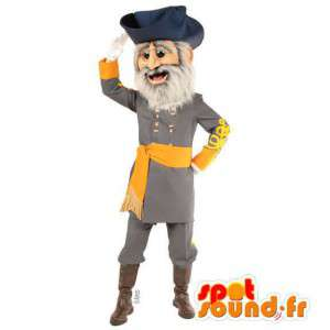 Mascot pirate captain - MASFR007552 - Mascottes de Pirate