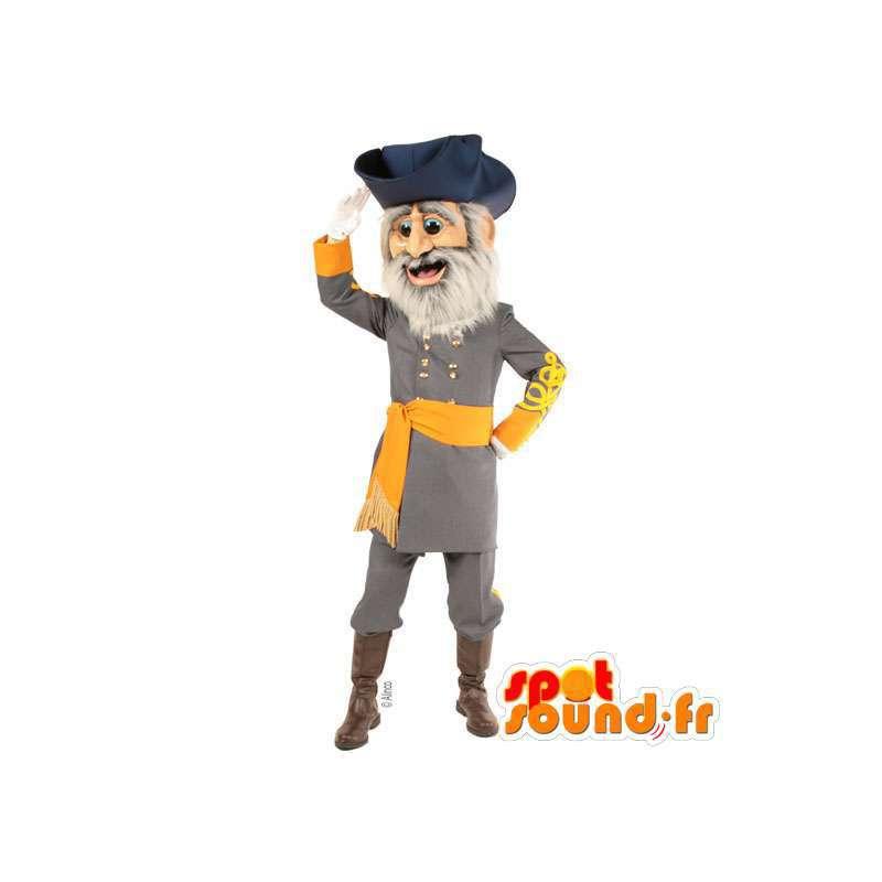 Pirate Captain Mascot - MASFR007552 - mascottes Pirates