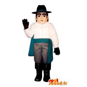 Homem mascote, mosqueteiro, Príncipe - MASFR007559 - Mascotes homem
