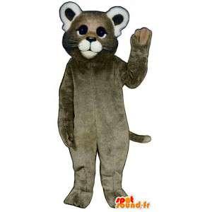 Mascot badger, raccoon - MASFR007566 - Mascots of pups