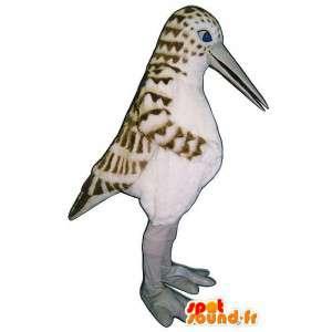 Mascot oppdaget hvit fugl med et stort nebb - MASFR007567 - Mascot fugler