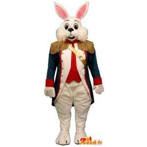 Kani maskotti pukeutunut yhtenäinen sotilas - MASFR007571 - maskotti kanit
