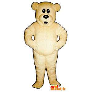 Mascot Bear plush beige - MASFR007599 - Bear mascot