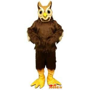 Maskotka żadnych owłosione sowy - MASFR007600 - ptaki Mascot