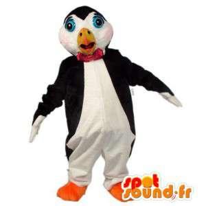 Mascot pingüino blanco y negro - MASFR007602 - Mascotas de pingüino