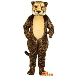 Mascot gepardi. Leopard Costume - MASFR007610 - Tiger Maskotteja