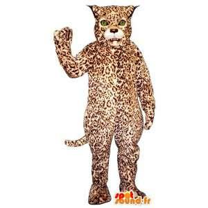 Leopard maskot. Jaguar Costume - MASFR007611 - Tiger Maskoter