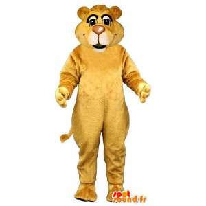 Gelber Löwe-Maskottchen.Tiger-Kostüm - MASFR007620 - Tiger Maskottchen