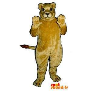 Mascot jättiläinen naarasleijona - Pehmo koot