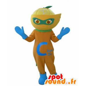 Mascotte d'orange, de citron, de clémentine - MASFR031018 - Mascotte de fruits