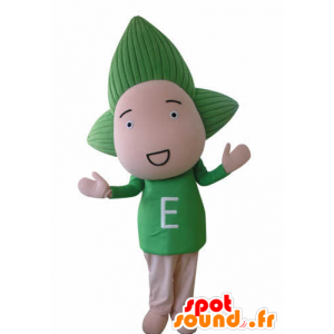 Puppe Maskottchen von Baby mit grünen Haaren - MASFR031036 - Maskottchen nicht klassifizierte