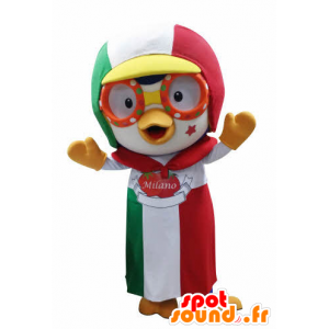 Bird mascot with a cap and apron - MASFR031049 - Mascot of birds