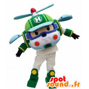 Hubschrauber Maskottchen Spielzeug für Kinder - MASFR031055 - Maskottchen-Kind
