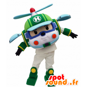 Helicopter mascotte speelgoed voor kinderen - MASFR031055 - mascottes Child