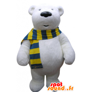 Urso Polar mascote. mascote urso polar - MASFR031069 - mascote do urso
