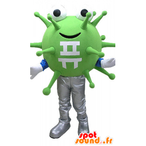 Mascot green bacteria, viruses. extraterrestrial mascot - MASFR031084 - Missing animal mascots