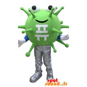 Maskot grønne bakterier, virus. utenomjordisk maskot - MASFR031084 - utdødde dyr Maskoter