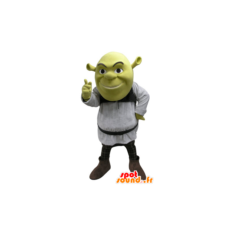 Shrek mascot, famous green ogre cartoon - MASFR031088 - Mascots Shrek