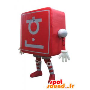 Mascot-Computer. neue Technologie - MASFR031090 - Maskottchen von Objekten