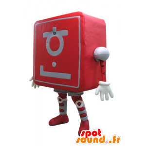 Mascot computer. New technology - MASFR031090 - Mascots of objects