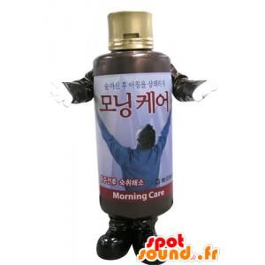 Shampoo bottle mascot. lotion mascot - MASFR031106 - Mascots of objects