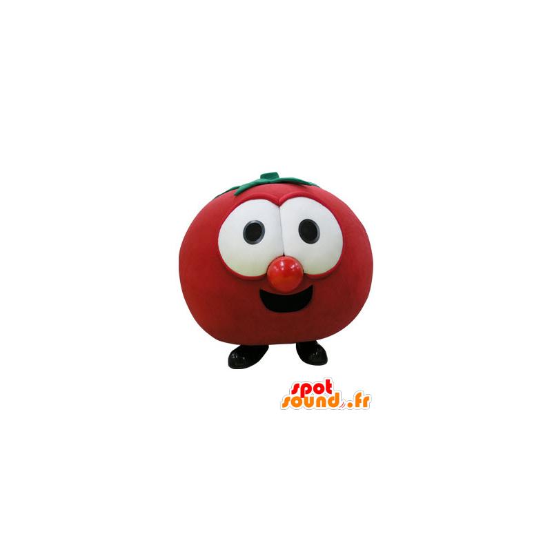 Mascot red giant tomato. Mascot fruit - MASFR031108 - Fruit mascot