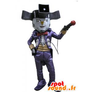 Mascote palhaço mostra o personagem de circo - MASFR031151 - mascotes Circus