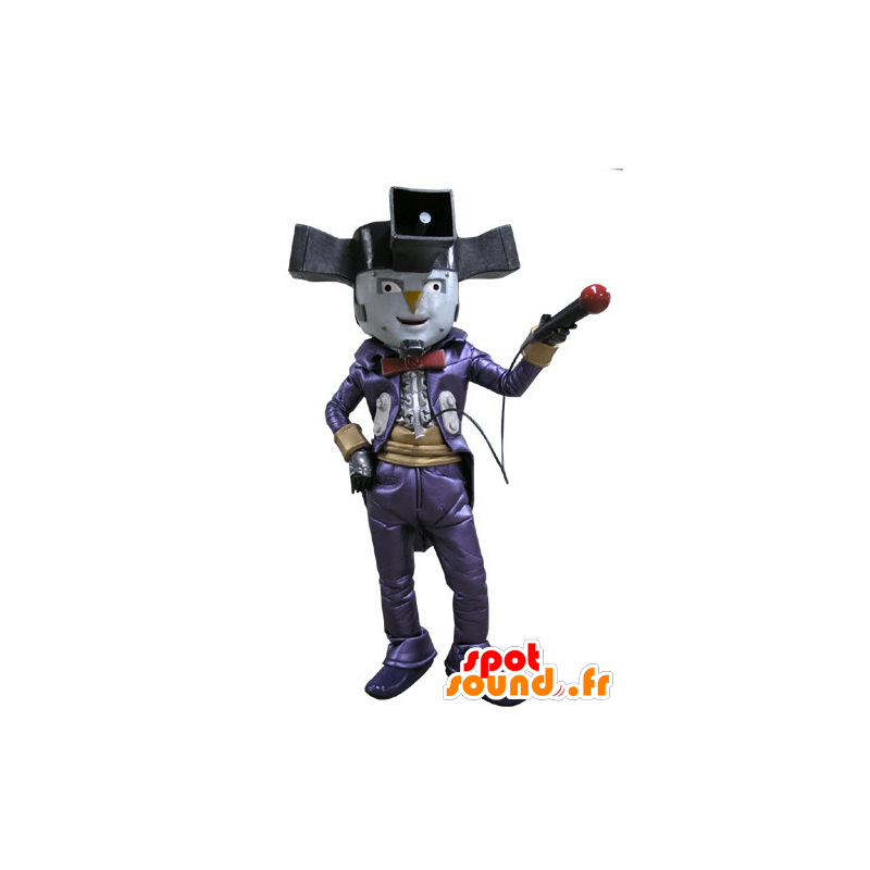Clown mascot character circus shows - MASFR031151 - Mascots circus