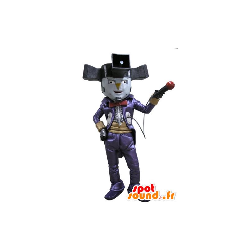 Clown maskot, cirkus karakter, viser - Spotsound maskot kostume