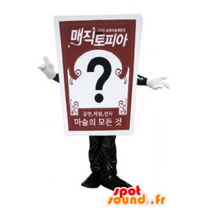 Jättiläinen kartta Mascot. mainonta maskotti - MASFR031165 - Mascottes d'objets